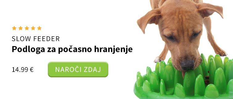 Podloga za počasno hranjenje za pse
